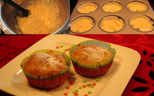 Apfelmuffins mit Marzipan