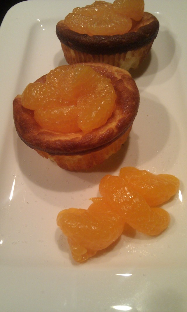 Mandarinen-Quark-Muffins