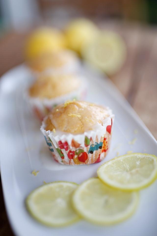 Buttermilch-Zitronen-Muffins