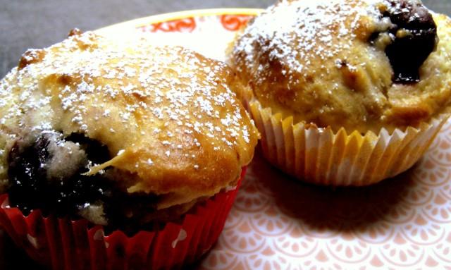 Kirsch-Vanillequark-Muffins